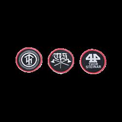 Набор патчей на липучке Logo
