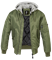 Куртка Brandit MA1 Sweat Hooded